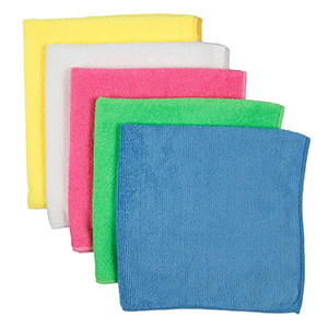 MicroFibre Clothes Assorted Colours