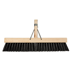 •	Platform broom PVC  450mm